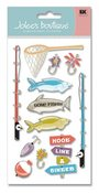 Fishing  Stickers - Jolee's Boutique