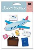 Airplane Travel  Stickers - Jolee's Boutique