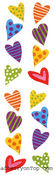 Chubby Hearts - Mrs Grossman's Stickers