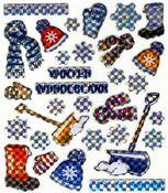 Winter Wonderland Prismatic Stickers