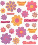Love Flowers Stickers