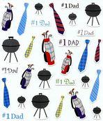 # 1 Dad Stickers