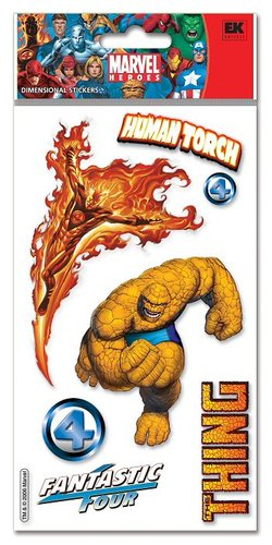 Fantastic Four # 1 Marvel Heroes Stickers