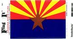 Arizona State Flag Vinyl Flag Decal