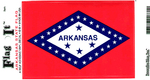 Arkansas State Flag Vinyl Flag Decal