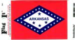 Arkansas State Flag Vinyl Flag Decal