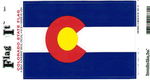 Colorado State Flag Vinyl Flag Decal