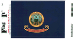 Idaho State Flag Vinyl Flag Decal