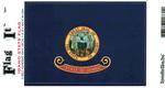 Idaho State Flag Vinyl Flag Decal