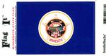 Minnesota State Flag Vinyl Flag Decal