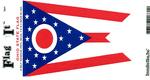 Ohio State Flag Vinyl Flag Decal