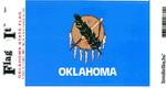 Oklahoma State Flag Vinyl Flag Decal