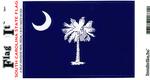 South Carolina State Flag Vinyl Flag Decal