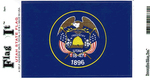 Utah State Flag Vinyl Flag Decal