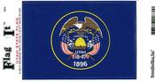 Utah State Flag Vinyl Flag Decal