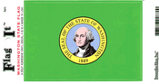 Washington State Flag Vinyl Flag Decal