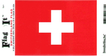Switzerland Vinyl Flag Decal