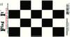 Checkered Vinyl Flag Decal