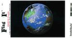 Earth Flag Vinyl Flag Decal