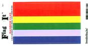 Rainbow Flag Vinyl Flag Decal