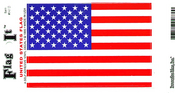 United States Flag Decal 5x8