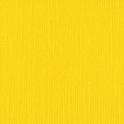 Bazzill Yellow 12x12 Bazzill Cardstock