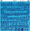 H2O Alphabet Stickers