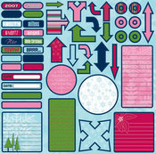 Northern Exposure Holiday Journal Stickers