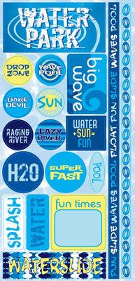 H2O Water Park Sticker