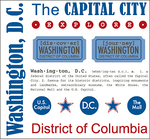 Washington D.C. Stickers