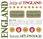 England Stickers