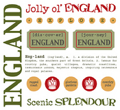 England Stickers