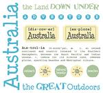 Australia Stickers