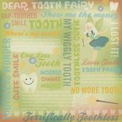 Tooth Fairy Collage Paper - Karen Foster