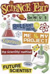 Science Stickers by Karen Foster