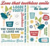 Tooth Fairy Themed Rub-on