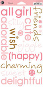 My Girl Words Stickers