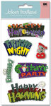 Spooky Signs  Stickers - Jolee's Boutique