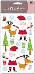 Christmas Time Sticko Stickers