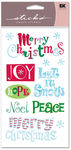 Merry Christmas Sticko Stickers