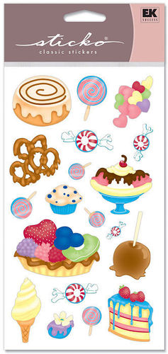 Candy/ Sweets Sticko Stickers