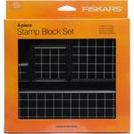 Stamp Block Set by Fiskars