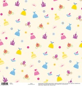 Princess Icons Gloss Thermography Disney Paper - EK Success