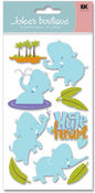 Elephant Heart  Stickers - Jolee's Boutique