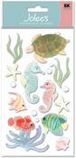 Sea Horses Vellum  Stickers - Jolee's Boutique
