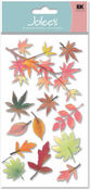 Fall Leaves Vellum  Stickers - Jolee's Boutique