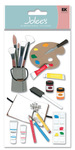 Art Supplies Foam  Stickers - Jolee's Boutique