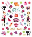 Girl Talk Stickers