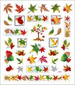 Fall Foliage Stickers