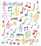 Music Notes Stickers